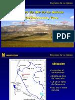 Geologia y Mineralizacion La Quinua