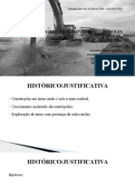 Trabalho de Fundações e Geotecnia
