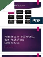 1-Pengertian Psikologi & Psikologi Komunikasi