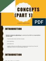 HRP Concepts (Part 1) Chapter 3