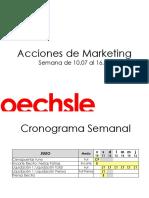 Acciones de Marketing - Sem 10.07 - 16.07