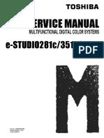 Toshiba E-STUDIO281c 351c 451c Service Manual V02