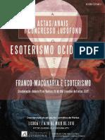 Ata Franco-maçonaria e Esoterismo