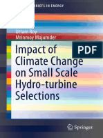 Impact of Climate Change on Small Scale Hydro-turbine Election