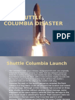 the shuttle columbia disaster