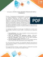 Guía Para El Uso Del Recurso Educativo-Diagrama Gantt-Organigrama