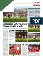 La Provincia Di Cremona 21-05-2017 - SuperCoppa