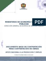 Construccion Obras Hidraulicas Para Canalizacion Torrentera Wara Wara