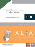 Filosofia Antigua ALFA2014 Resumenes