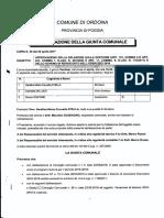 Delibere di Giunta del 26/4 sul bilancio 2016, sul conteggio dei residui attivi, e misure per il futuro equilibrio finanziario del 4/5