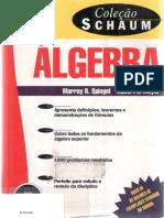 Álgebra Coleção Schaum (2ª Ed.) - Murray R. Spiegel e Robert E. Moyer