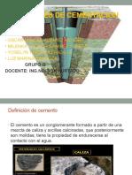 Materiales de Cementacion