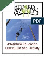 Adventure Education Curriculum