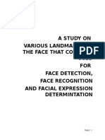 A STUDY ON VARIOUS LANDMARKS OF THE FACE THAT COULD BE USED.docx