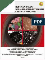 313860589 Modul Mineralogi Optik Petrografi 2016 PDF