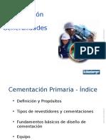 1.- Cementacion Primaria