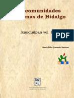 8 Libro Las Comunidades Indigenas de Hidalgo Ixmiquilpan Vol IV