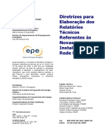 NT - Diretrizes para Elaboração dos Relatórios Técnicos Referentes às Novas Instalações da Rede Básica.pdf