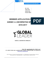 Form Global Leader Application