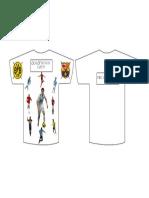 Crack de américa camiseta