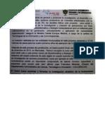 Comunicado de prensa donde informan costos del Centro de Bioinformática