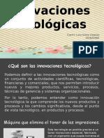 5 innovaciones tecnológicas.