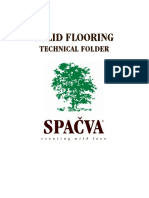 Tech Folder - Solid Flooring