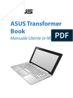 Manuale notebook ASUS