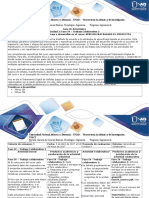 Guía de actividades y Rúbrica de evaluación - Fase IV - Trabajo Colaborativo 3