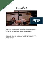 Lista de Exercícios Flexão