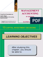 Ch13_Capital Investment Decisisiom Making