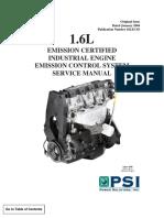 Motor 1.6L Man Serv