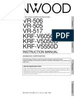 Kenwood vr506 Manual