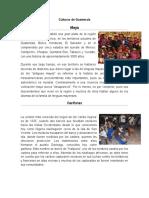 4 Culturas de Guatemala (Resumido)