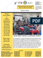 Chapter 776 May 2017 Newsletter