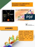 Ppt 01-Ang.compuesto y Ley de Senos y Cosenos