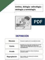 Náuseas Vómitos Disfagia- Clase3