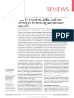 Type I/II cytokines, JAKs, and new strategies for treating autoimmune disease