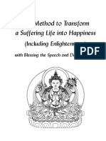 Method to Transform a Suffering Life Into Happiness c5