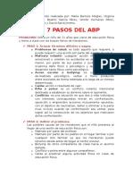 los 7 pasos del ABP