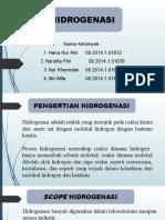 Presentasi PIK  Hidrogenasi