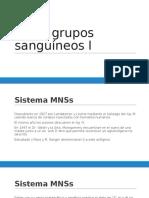 Otros Grupos Sanguíneos I