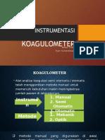 10 Koagulometer Instruments