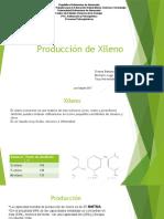 Producción de Xileno
