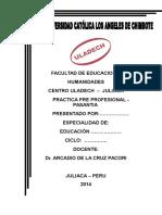Empaste Practica - Didactica - 2014