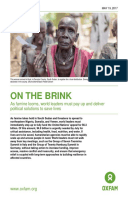 On The Brink: As famine looms, world leaders must pay up and deliver political solutions to save lives