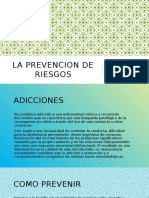 Trabajo Formacion, Prevencion de Riesgos. (1)