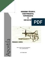 Apostila - Desenho Técnico Cartográfico, Cartográfico e Uso do GPS.pdf