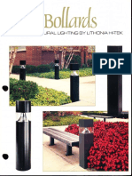 Lithonia Outdoor Bollards Series Brochure 2-86