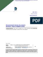 INTE  ISO 3098-6 2014